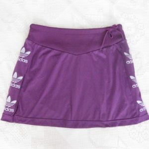 ADIDAS Rare Sample EUROPE Purple Tennis Mini Skirt